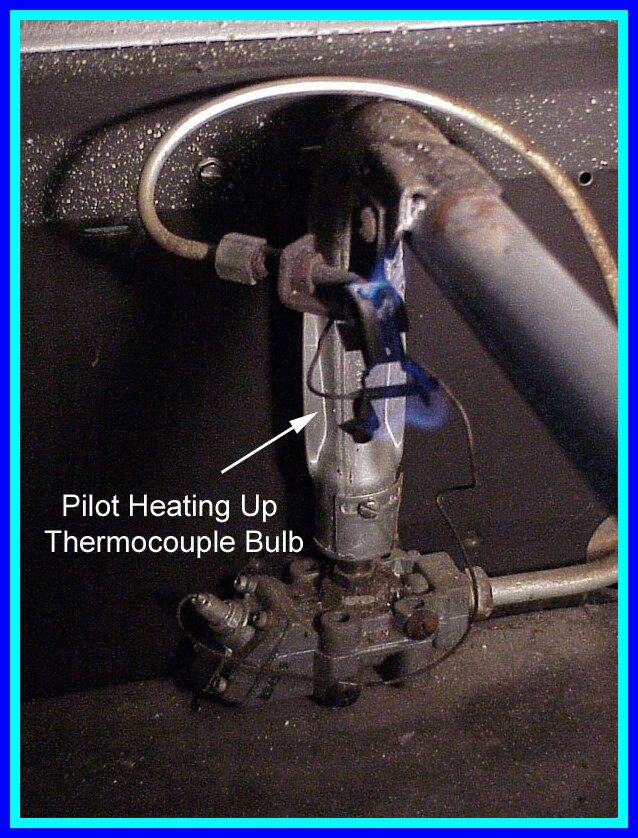 35 Reference Of Pilot Light Flame Adjustment Gas Fireplace Hot Water Heater Pilot