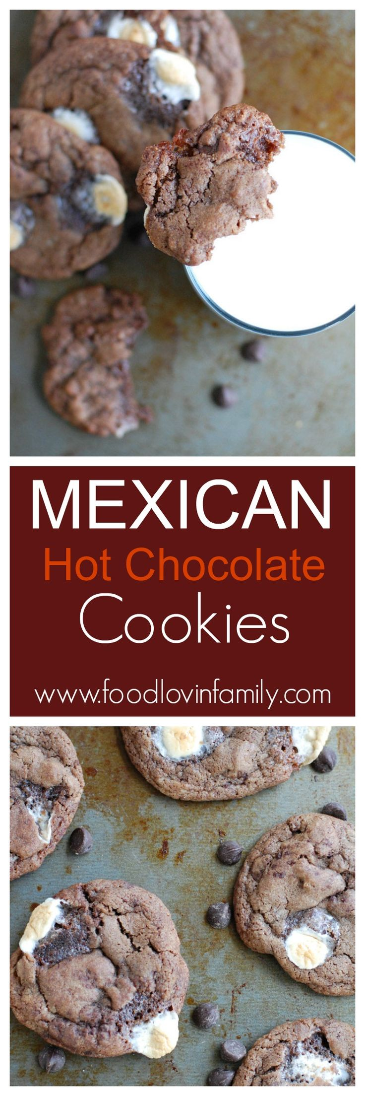 Mexican Hot Chocolate Cookies | http://www.foodlovinfamily.com/mexican-hot-chocolate-cookies/