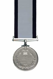 The Conspicuous Gallantry Medal reverse view