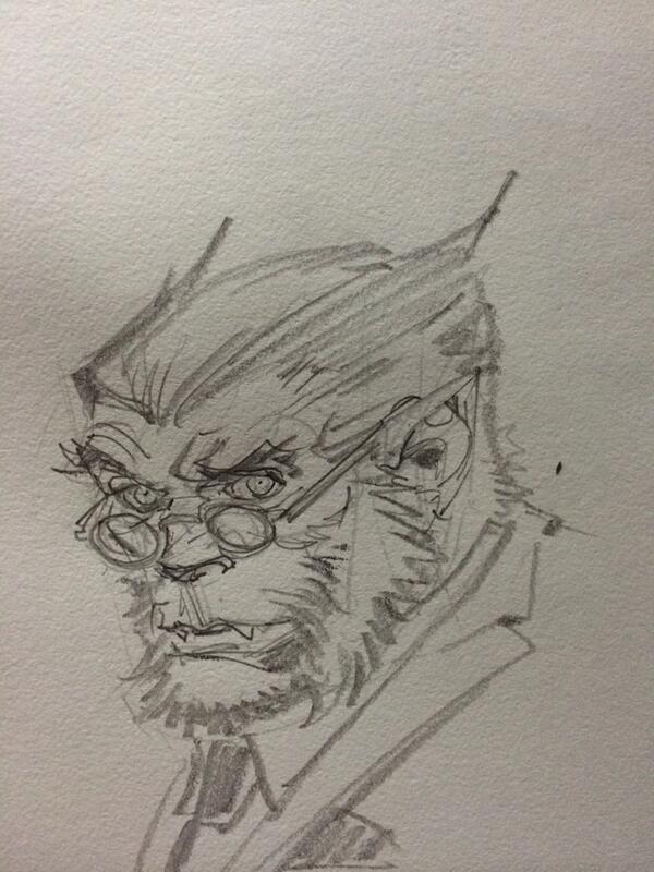 greg capullo pencil