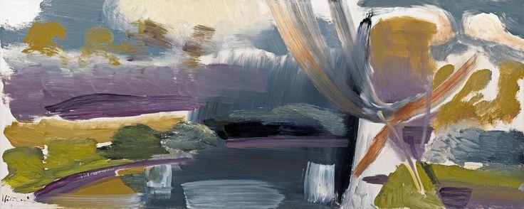 Ivon Hitchens ,Marsh Water
