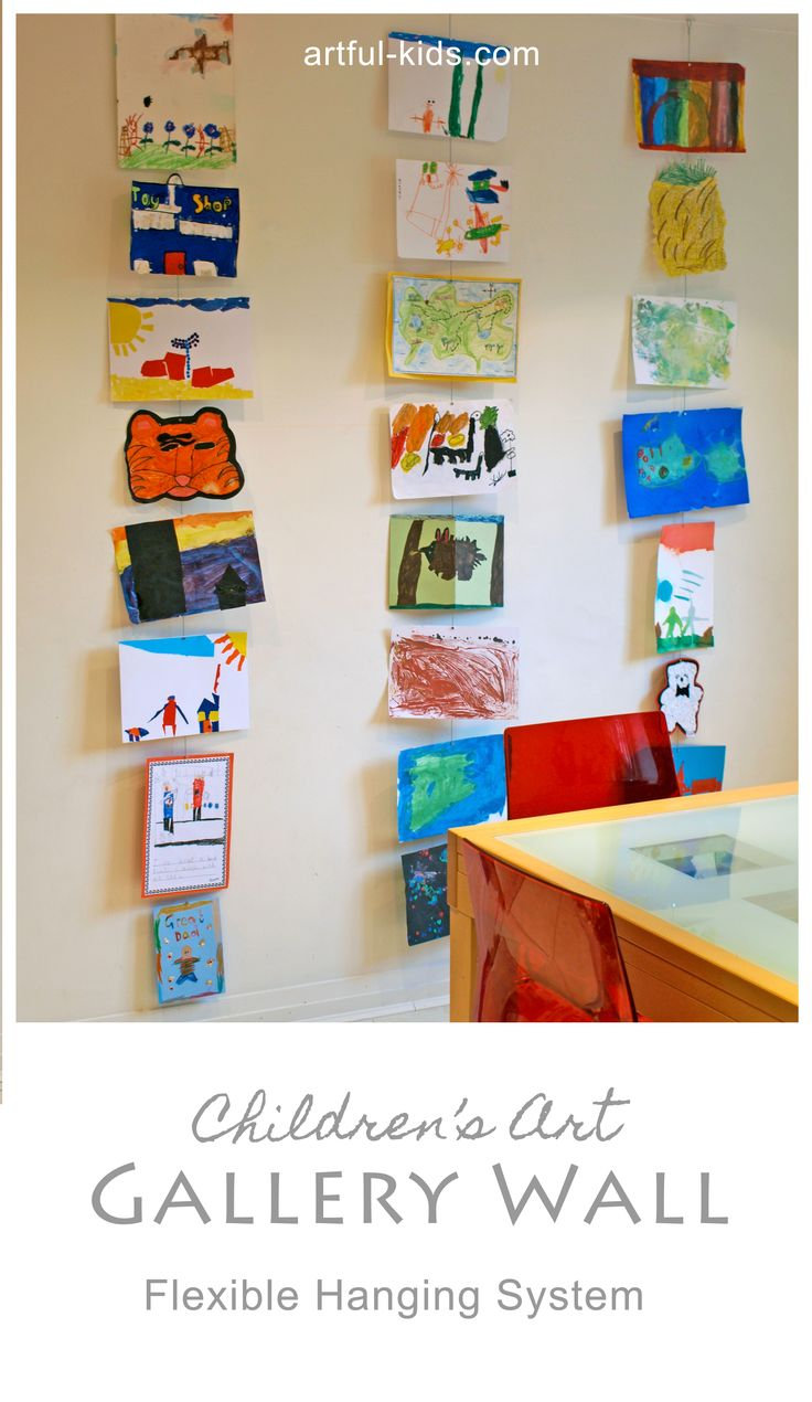 Childrens Artwork Display 29 Best Images About My Little Picasso Displaying Childrens
