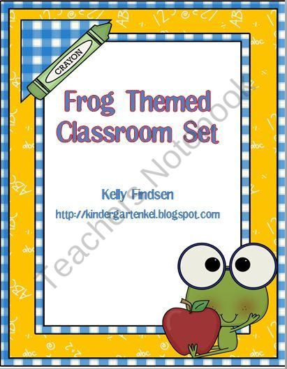 Classroom Design Page : Best images about fully rely on goodness frog