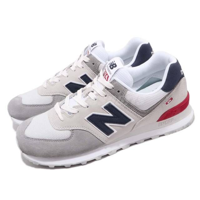new balance red white and blue running