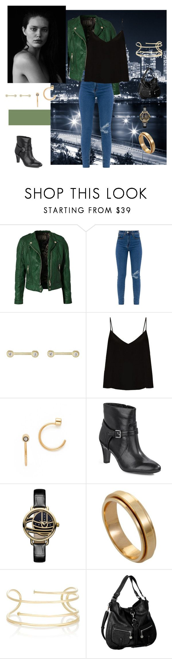 """""""Zee"""" by deejay-griego ❤ liked on Polyvore featuring Jofama, Tate, Raey, ZoÃ« Chicco, Lauren Ralph Lauren, Vivienne Westwood, Piaget, Jennifer Fisher and Melie Bianco"""