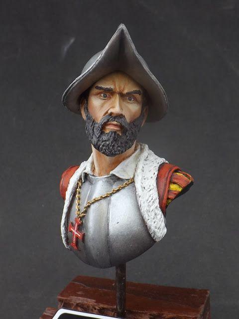 Navegador Português Século XVI - Bad Habbit Miniaturas 200mm