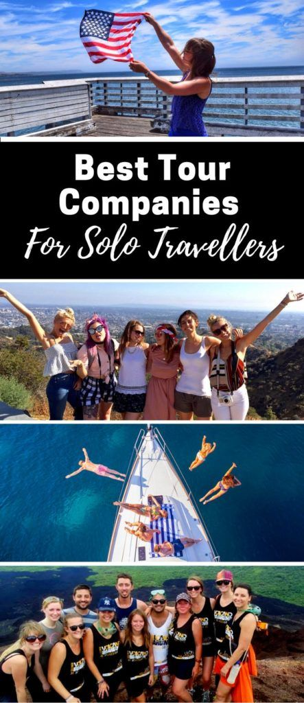 Best Tour Companies For Solo Travellers. Solo travel is daunting. From Intrepid and Trek America, to Busabout, Contiki, MedSailors and Travel Talk Tours – who offers the best experience for solo travellers? It's time to compare the top group tour companies. https://www.wanderlustchloe.com/solo-travel-group-tour-company-review/