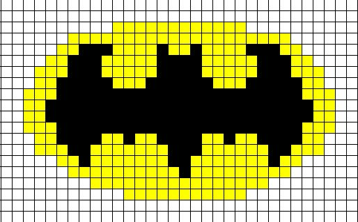 Batman Knit Hat--the actual image is cuter, but...