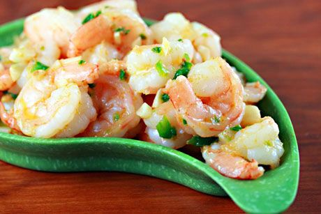 Frozen shrimp (Recipe: Blazing hot shrimp) {gluten-free} - The Perfect Pantry®