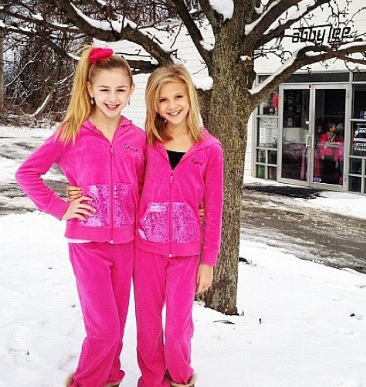 Chloe and Paige outside of ALDC