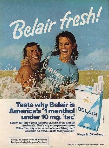 Vintage Tobacco Cigarette Ads