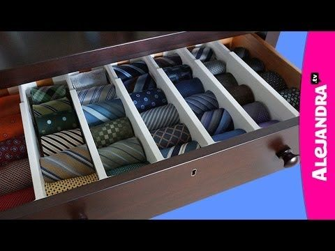 How to Organize Ties