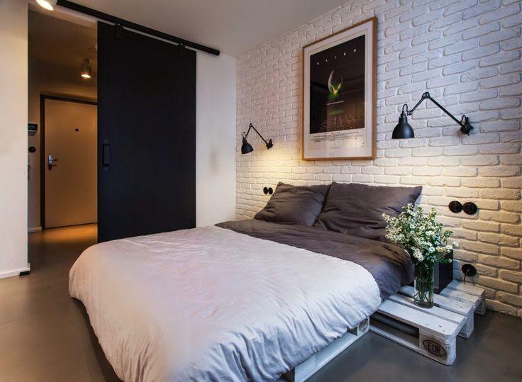 MI RINCÓN DE SUEÑOS: Muebles hechos con palets en un apartamento con toque masculino