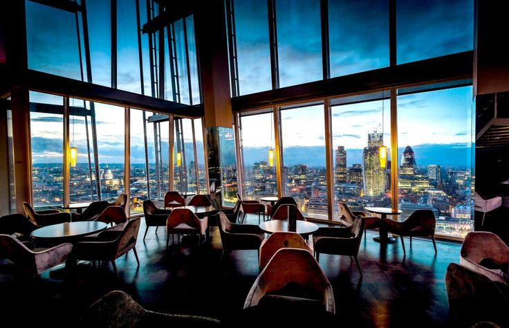 Aqua shard, a contemporary London British restaurant and bar, with breath-taking views from the 31st floor of The Shard - shared by Houyea