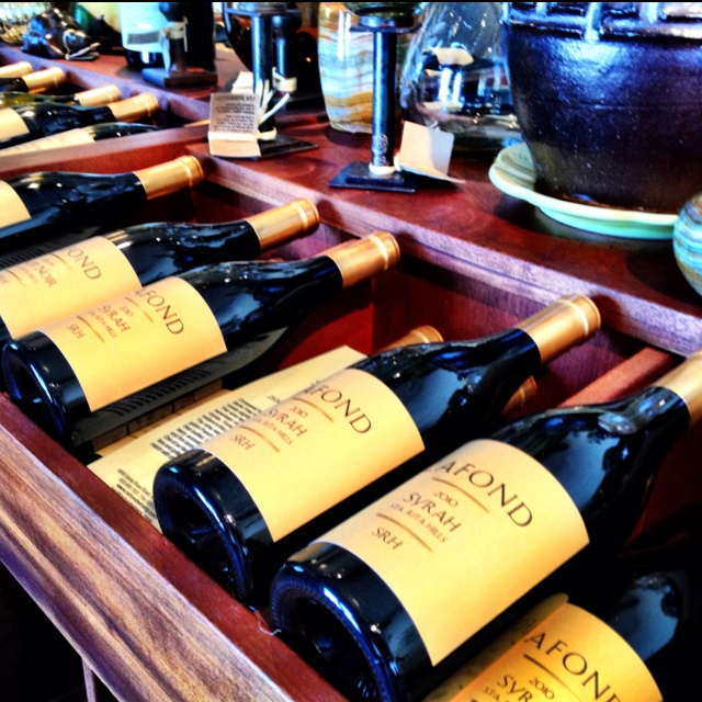 LaFond Winery in the Santa Rita hills of Santa Barbara County wine country. A great winery set on a rural country road positioned between the pacific ocean and CA 101. Known for there Chardonnay and a top notch Syrah