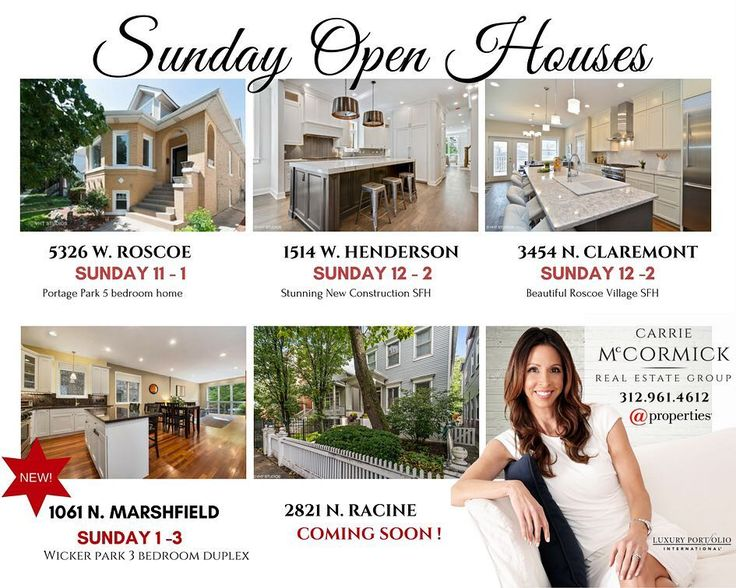 Sunday open houses!  I will be hosting the 1061 N Marshfield open house today from 1-3pm - stop in and say hello!  #chicagoopenhouse #openhousechicago #openhouse #wickerparkrealestate #wickerparkrealtor #chicagorealestate #portagepark #portageparkchicago #roscoevillage #southportcooridor #chicagoagent #topproducer #lovewhatyoudo #lovewhatido #sundayopenhouse #chicagohomes