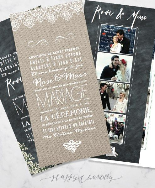 faire part mariage photomaton mariage illustre happy chantilly faire part mariage pinterest. Black Bedroom Furniture Sets. Home Design Ideas