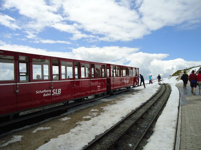 the Schaffberg train in Austria