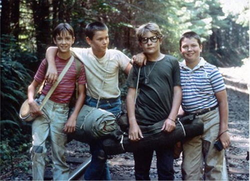 best stand by me images stand by me movie tv  stand by me wil wheaton river phoenix corey feldman jerry oconnell