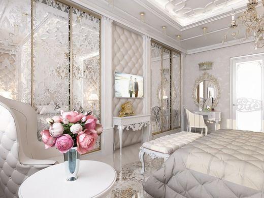 Спальня в 3-комнатной квартире (г.Москва). Спальня