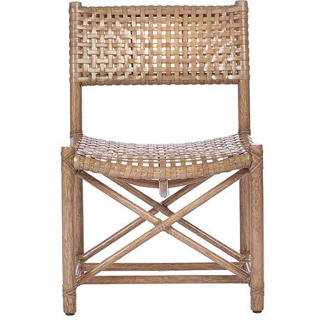 mcguire furniture company laced. McGuire Furniture: Laced Rawhide Armless Chair: No. LM-44 Mcguire Furniture Company I