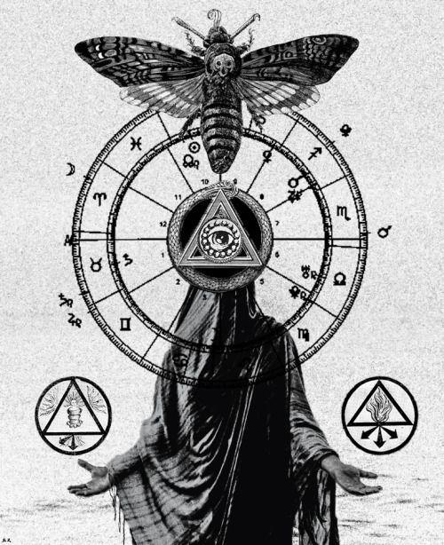 Afbeeldingsresultaat voor occult symbols tattoos