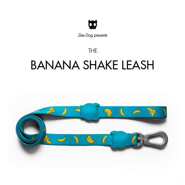 Zee.Dog   Banana Shake Leash
