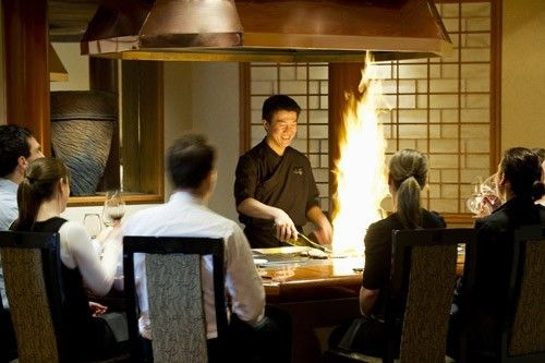 Teppanyaki Cooking At Shiki Restaurant, InterContinental Adelaide