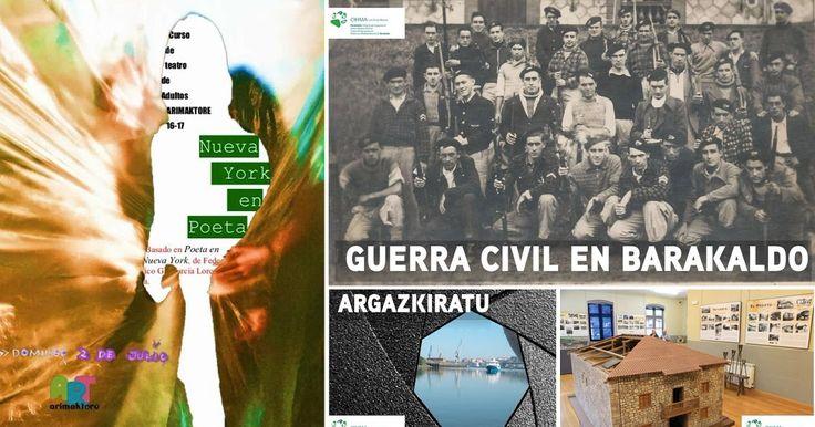 Agenda | 'Nueva York en poeta' en Arimaktore + la Guerra Civil en El Regato