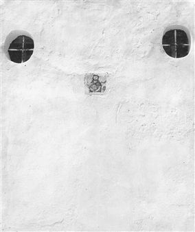 Ischia, Muro bianco (Ischia, White wall) By Piergiorgio Branzi ,1953