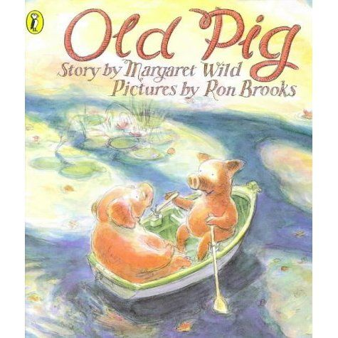 """Old Pig and Granddaughter share everything, including the chores, until the day when Old Pig says """"I have a lot to do. I must be prepared..."""