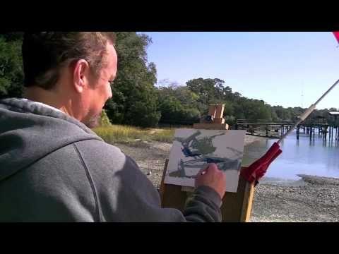 A Quick Demo for Urig's Plein-Air Nautical Workshop  Blog: http://www.darylurig.com/blog/