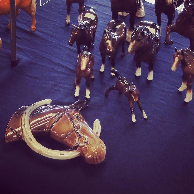 Horses at the Antique Fair