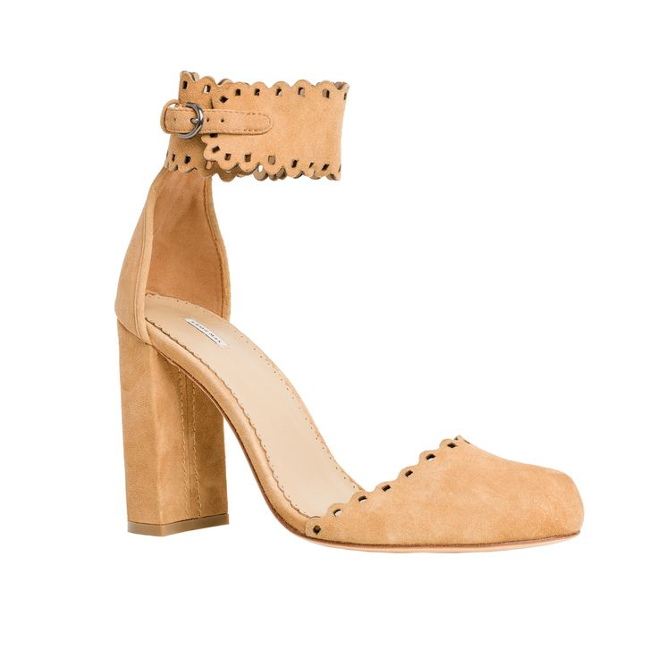 Heap: Soft Suede High Heel Shoes