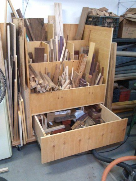 78 images about workshop lumber storage on pinterest for Mobile lumber storage rack plans