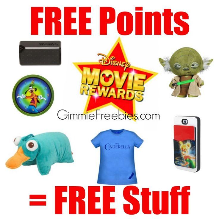 Disney Movie Rewards Codes NEW Points + Master List of Free Codes - http://gimmiefreebies.com/disney-movie-rewards/