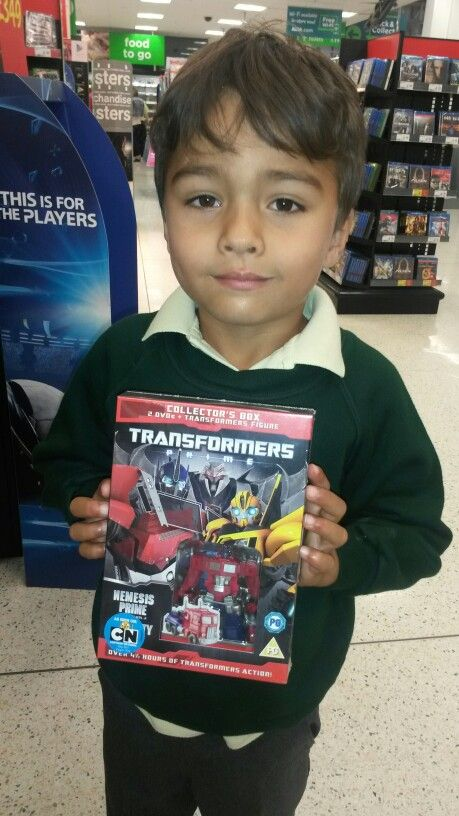 Transformers DVD in any form! Lol