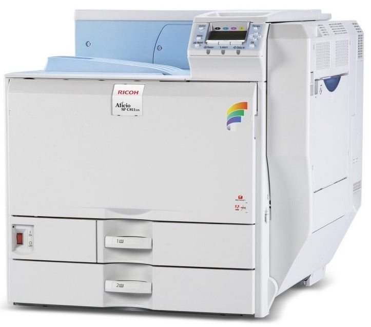 Ricoh Aficio Sp C820dn Color Laser Printer Ricoh With Images