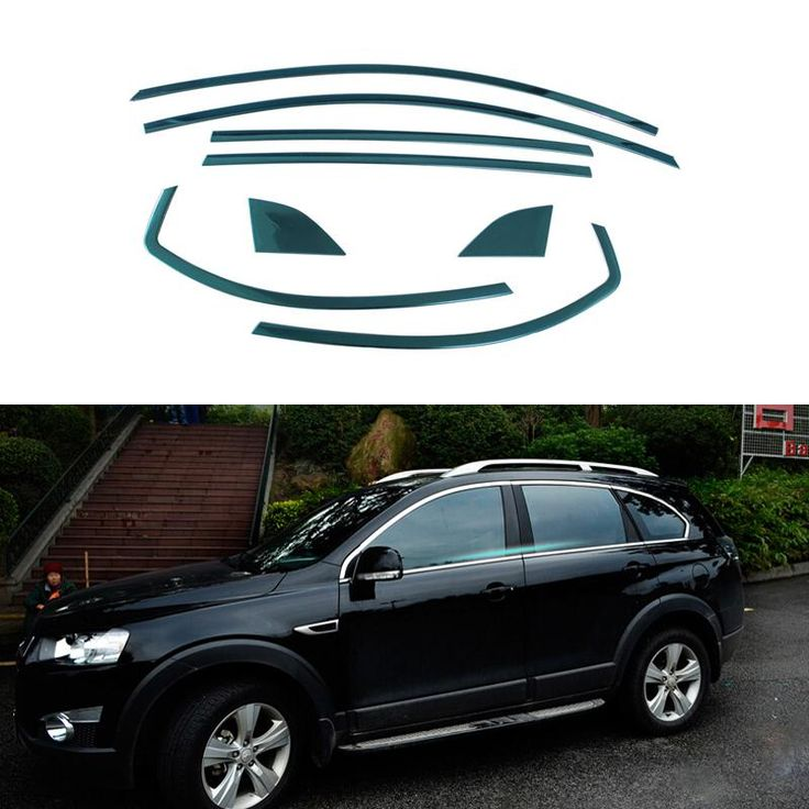 Stainless Steel Car Styling Full Window Trim Decoration Strips Accessories For Chevrolet Captiva 2013 2014 2015 OEM-8-16