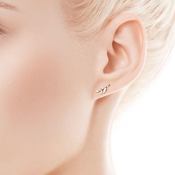Livia - złote kolczki (FA11730 - 25421) - YES
