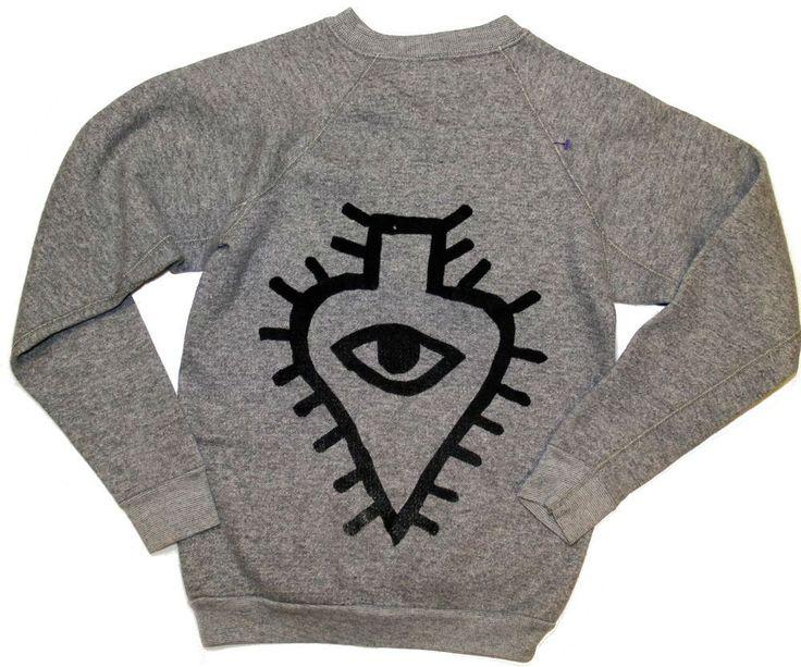 "Luaka Bop ""Cloud"" logo sweatshirt"
