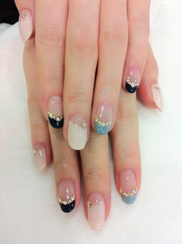 Best korean nail art best ideas about korean nails on nail art nail art how to get gemstone korean tutorial view images prinsesfo Choice Image