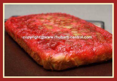 Rhubarb Red Jello White Cake Mix