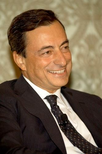 Mario Draghi President of the European Central Bank