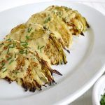 Roasted Cabbage Wedges with Onion Dijon Sauce will change how you think about cabbage!