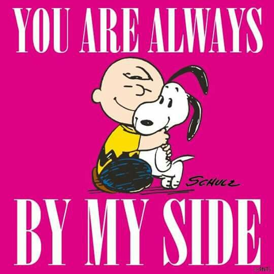 'You are Always by my Side', Charlie Brown & Snoopy