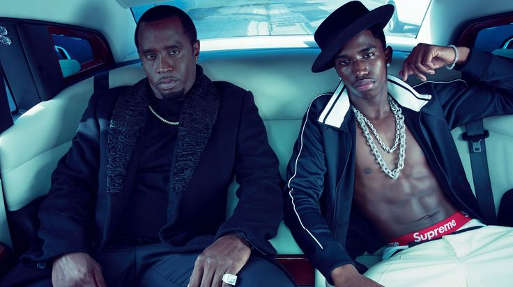 For Sean Combs and His Son, Christian, Diamonds Are Forever - Vogue