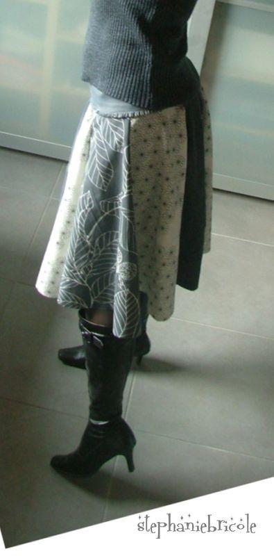 ... Jupe longue à faire soi-même, Modèles de jupe maxi et Jupe à