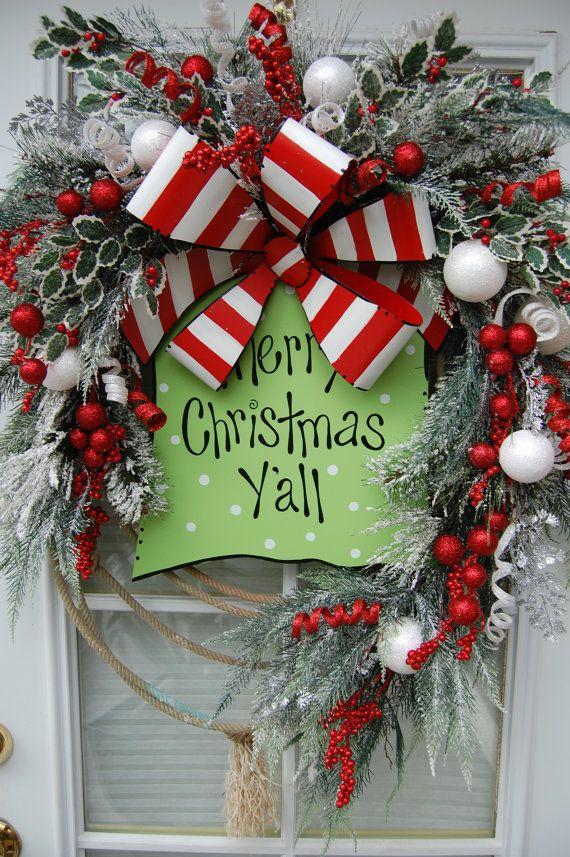 Christmas Wreath 594 best Christmas Wreaths u0026