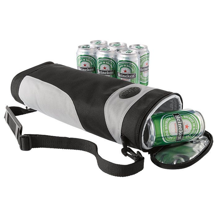 Could get a LOT of use out of this! Golf Cooler 6-Pack... Reach into your bag for something more refreshing than a club.
